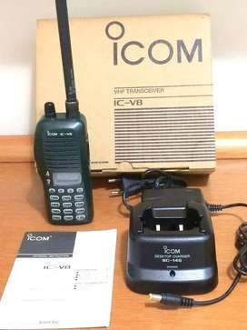iCOM IC - V8 Professional Transceiver Two - way Radio Interphone  1 pc