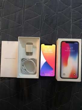 iPhone x 256gb Complete box