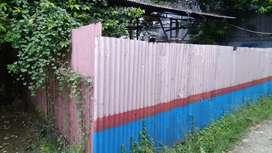Tanah kosong disewakan dipinggir jalan raya kelurahan duren sawit