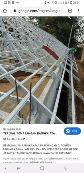 Pemasangan atap baja ringan termurah dan berkwlitas