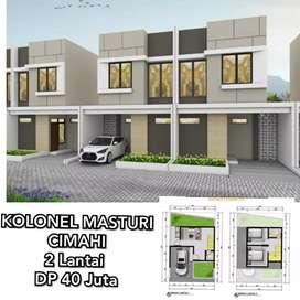 Rumah cluster Lux modern 2 lantai kolonel Masyuri Cimahi Bandung utara
