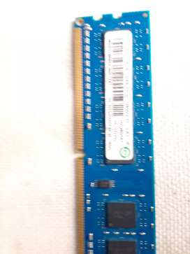 Pc ram for sale 4GB ddr 3
