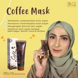 Coffee mask SR12 / masker wajah / menghilangkan flek hitam dan kusam