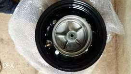 Honda dio front wheel rim with hub assy valve tuless