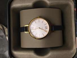 Jam Tangan Fossil Annette Navy Leather