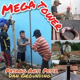 Ahli Team Pasang Penangkal Petir +Grounding Di  Area Cileungsi -Bogor