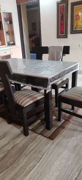 Dining table  with six chairs...