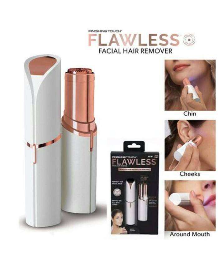 Flawless Women Painless Hair Remover Face Facial Hair Remover 0