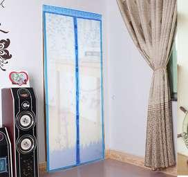 Tirai Horden Korden Gorden Magnet Pintu Kamar, Ruangan Terbebas Nyamuk