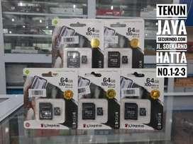 Memori micro sd 64gb kingstone class 10 Support untuk kamera CCTV wifi