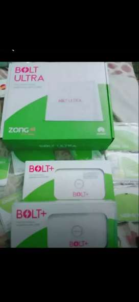 Zong 4g mifi cloud and router  box pack stock available