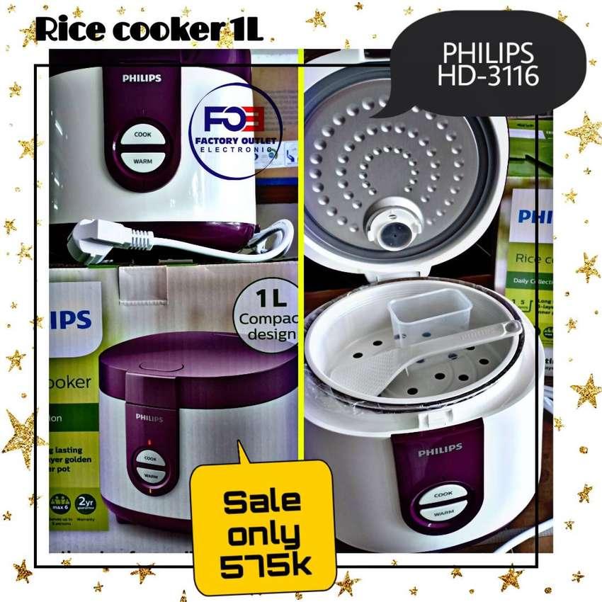 Rice Cooker PHILIPS Type HD-3116 - PURPLE 0