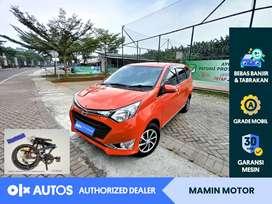 [OLXAutos] Daihatsu Sigra 2016 R Deluxe 1.2 A/T Merah #Mamin Motor