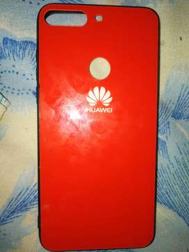 Huawei y7 prime 2018/Honour 7c back cover with glass back side