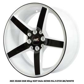 velg mobil nissan march type->NE3 JD265 HSR R15X7 H8X100-114,3 ET30