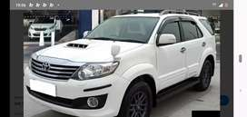 Toyota fortuner as like new 22lac
