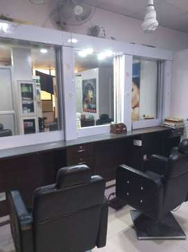 Beauty Saloon/Parlour Setup for Sale  Sec-4 main market,Vaishali 1,99L