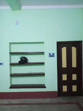 One well furnished single room with attached bathroom for bachelor.