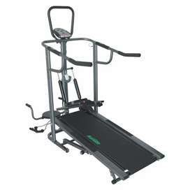 Trademil for exercise  Aerofit AF 902 Manual Treadmill with Display