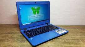 Acer ES1-132 Intel N3350 Up To 2.40GHz Netbook Slim Mulus Mesin Segel