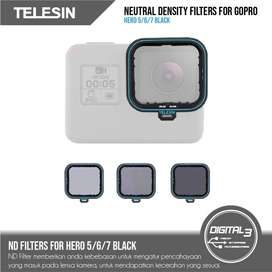 Telesin ND Filter ND4 ND8 ND16 Filters Set GoPro Hero 7 6 5 Black