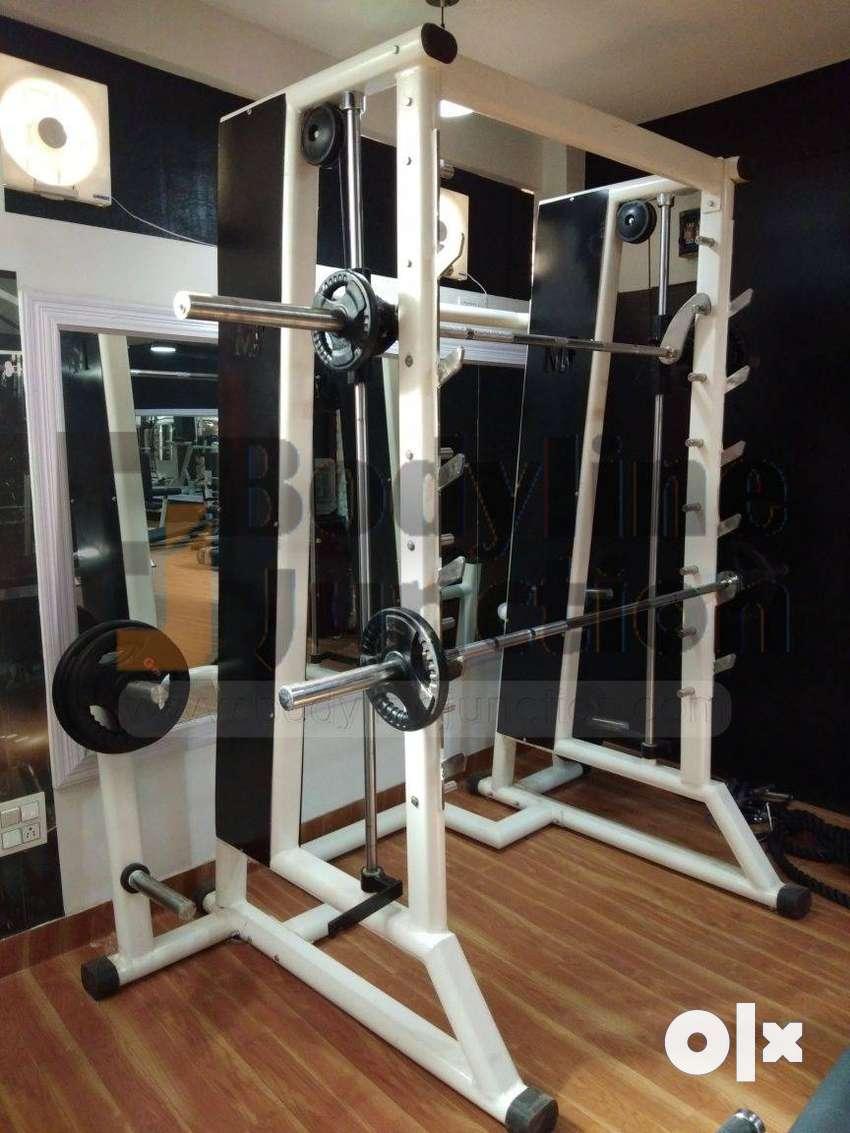Health club setup complete Commercial  gym Equipment photo. 0