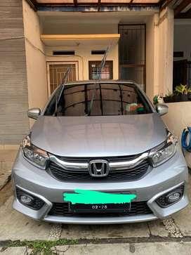 Jual Honda Brio Satya Tipe E NIK 2021 Silver