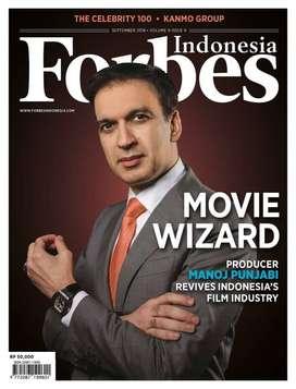 Majalah FORBES Indonesia September 2018