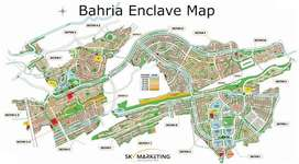 Residential Plot For Sale In Beautiful Bahria Enclave - Sector A