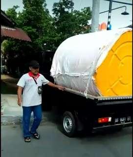 Tandon air 5000 liter gudang toren Klaten new88 hdpe