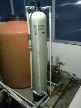 Filter penjernih air sumur zat besi keruh bau warna rasa
