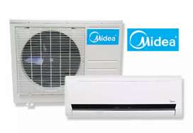 Carrier Midea 1 ton Split AC Sealed Pack