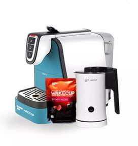 Coffee machine with frother