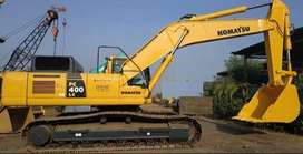 Jual Alat Berat Excavator Komatsu model PC400LC-8 Tahun 2015