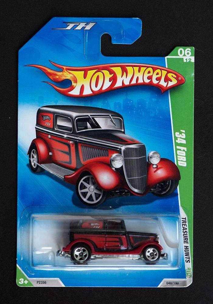 Hotwheels 34 Ford Merah Hitam Treassure Hunt