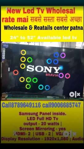 """24"""" to 55"""" available new LED TV Sony Samsung made in Malaysia 2 year w"""