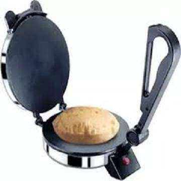 Roti Maker Stainless Steel Non-Stick Electric Tortilla Maker - 08 Inch 0