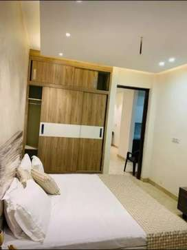 3 BHK Semi Furnished Flat with Modular Kitchen Spacious Bedroom