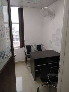 Zirakpur commercial front facing space for office use available