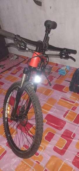 """sepeda united mtb 26"""" miami bonus helm"""