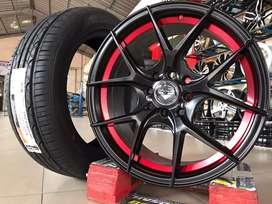 Jual velg mobil Nissan March,Livina type->VORSTEINER R16X7 H8X100-1143