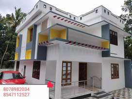 7 Cent Plot With 1800 Sq. Ft 4 BHK House In Perumpuzha