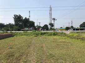 Plot for sale on cheap rices on highway