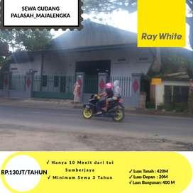 Disewakan Gudang di Jalan Raya Cirebon - Bandung