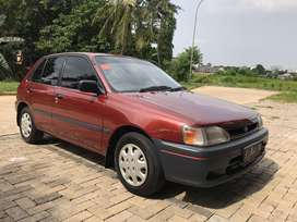 STARLET 1.3 1994 ISTIMEWA full original / antik cat baru