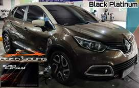 Free Fogging Car Pemasangan Kaca Film Black Platinum Full