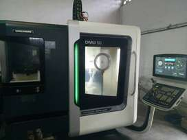 VMC Machine for Sale (DMG Mori 5-Axis)