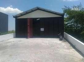 Disewakan tempat usaha/ gudang Raya Randegansari Surabaya Barat Gresik