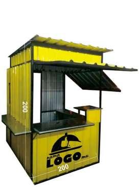kredit/cicilan container booth untuk segala jenis usaha