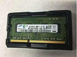 Used Samsung 2GB DDR3 Laptop RAM